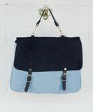 Maxi Maths Handbag - Wash Marine