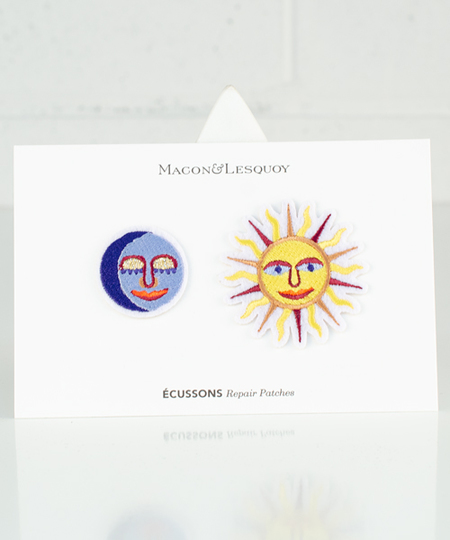 Sun & Moon Set Iron Patches