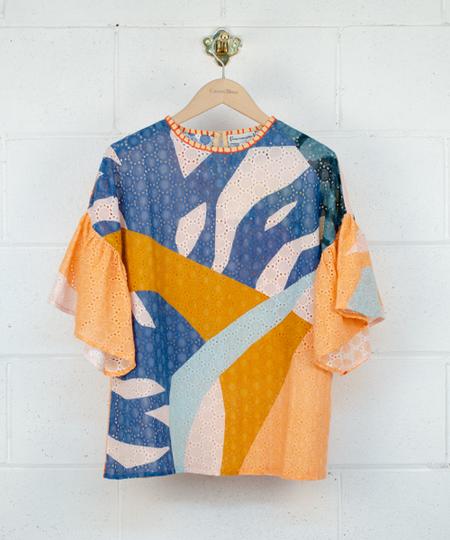 Colorful Fashion Blouse