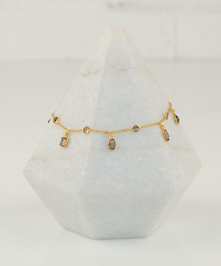 Lora Smoky Quartz Bracelet