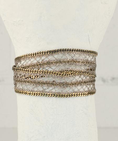 Roller Bronze Bracelet / Choker
