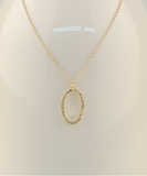 Dizzy Gold Diamonds Necklace