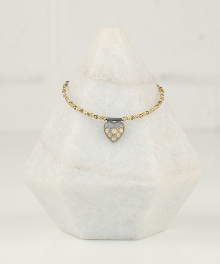 Heart Diamonds Bracelet