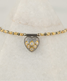 Heart Diamonds Bracelet