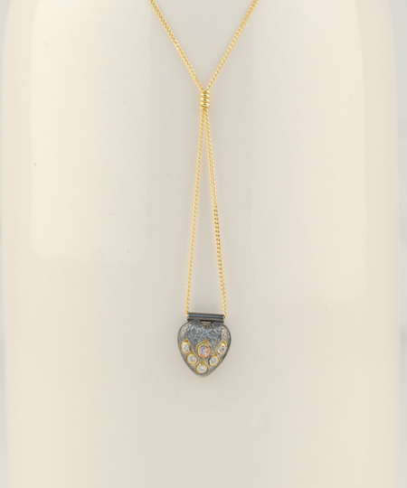 Heart Zircons Necklace
