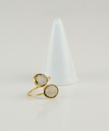 Lalo Smoky Quartz Ring