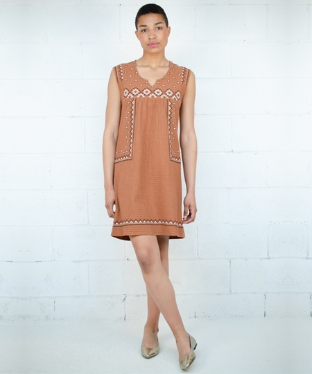 Mila Camel Dress