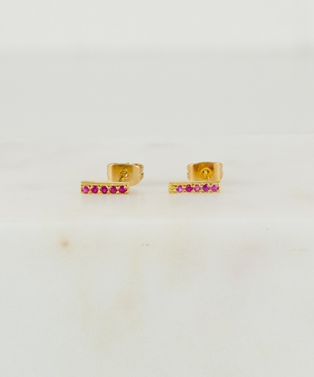 Tomi Rubies Earrings