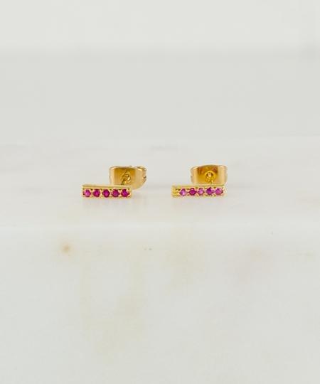 Tomi Rubies Earrings