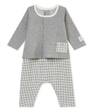 Tahitian Gingham All-in-one