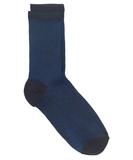 Dina Solid Blue Nights Socks