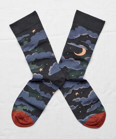 Night Moon Socks