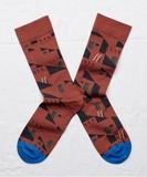 Sepia Pueblo Socks