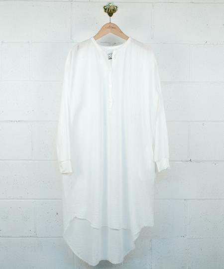Venice Long Shirt - Chalk