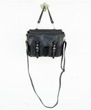 Mini Maths Handbag - Wash Noir