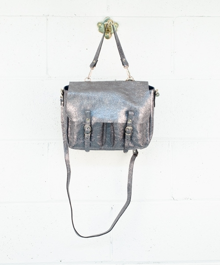 Mini Maths Handbag - Steel