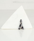 Eiffel Tower Embroidered Pin