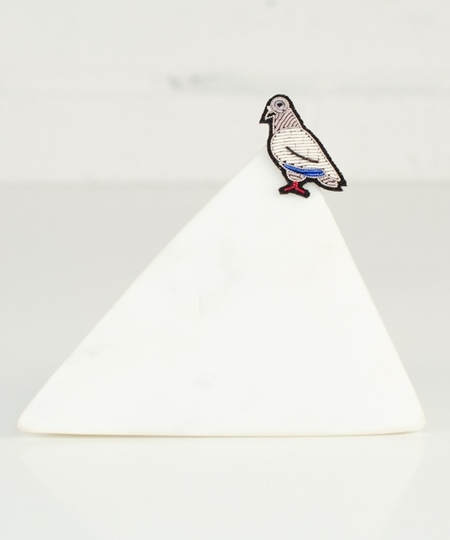 Parisian Sky ! Embroidered Pin