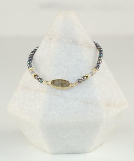 Caiman Labradorite Bracelet