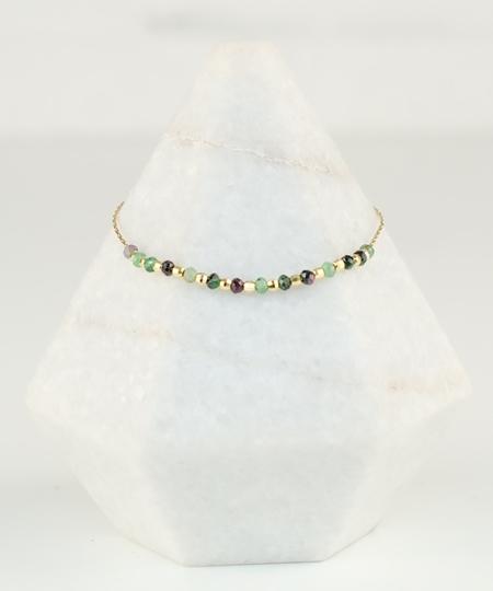 Serpentine Zoisite Bracelet