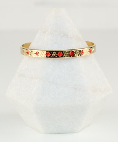 Babylone Coral Bracelet