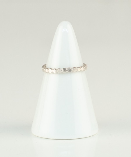 Circles Flat Ring - Sterling Silver