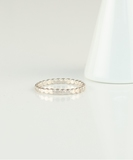 Circles Flat Ring - Sterling Silver