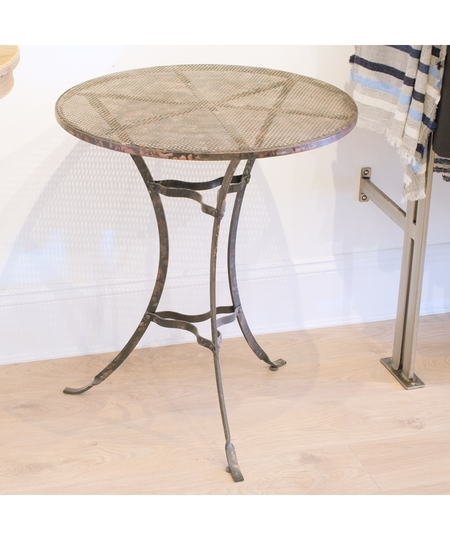Industrial Eiffel Style Table / In-Store Only