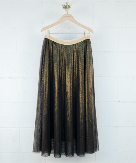 Etoile Sparks Gold Skirt