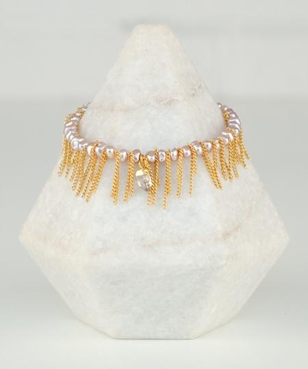 Charleston Herkimer Bracelet