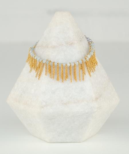 Charleston Aquamarine Bracelet