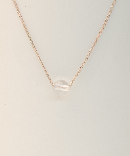 Rock Rose Gold Necklace