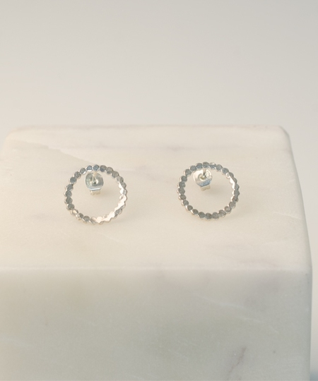 Circlo Silver Earrings