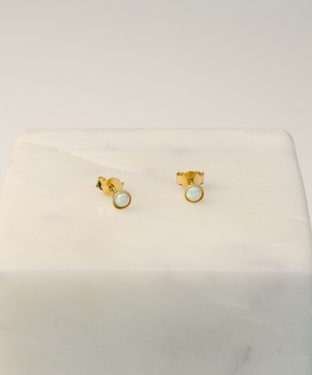 Star Light Gold Studs