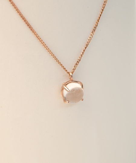 Loop Rose Gold Necklace