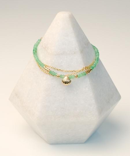 Coquillage Onyx Bracelet