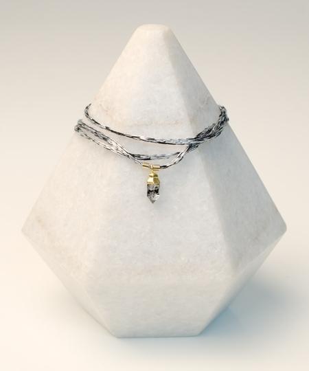 Iceland Herkimer Bracelet & Necklace