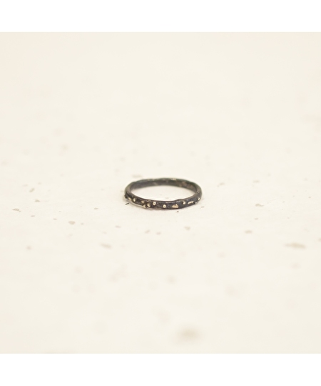 Brindilles Gunmetal Ring