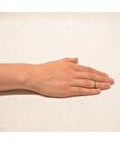 Brindilles Gunmetal Knuckle Ring