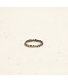 Billes Gunmetal Knuckle Ring