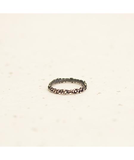 Billes Gunmetal Knuckle Ring