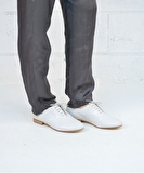 Galuchat Derbies - White