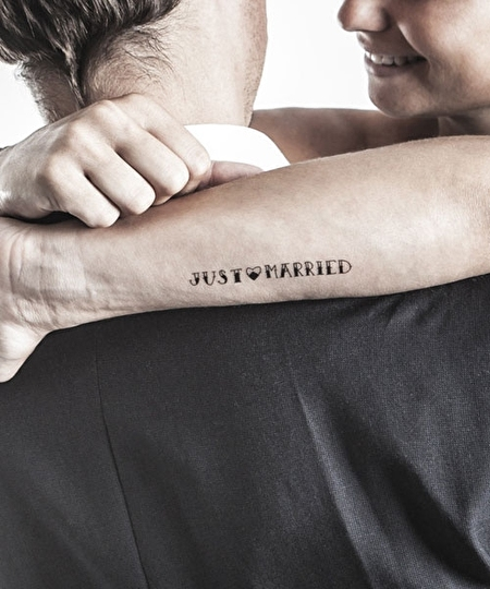 Le Mariage Gai Tattoos x2
