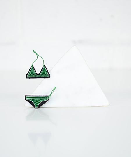 Bikini Embroidered Pin