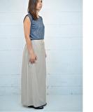 Klara Long Skirt - Sand