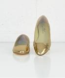 Ballet Flat - Gold Mirror