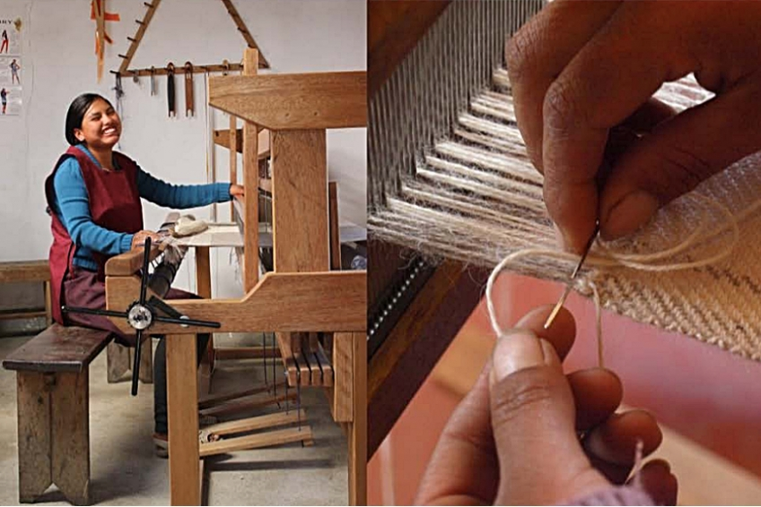 That's how it's made! FFORM : Alpaca clothing